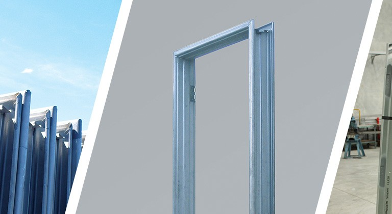 Fielders provide standard and architectural quality pressed metal door frames manufactured from BlueScope ZINCANNEAL® steel. They are manufactured to suit a ... & Door Frames - Fielders
